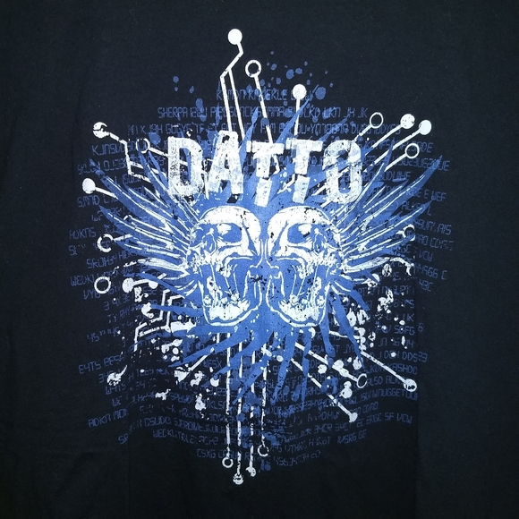datto Other - DATTO T-SHIRT 👕 2018 WORLD TOUR - Data Gaming XL